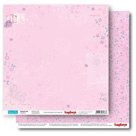 Бумага 30,5х30,5 «Мир в розовом»