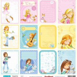 Бумага 30,5х30,5 «Карточки»