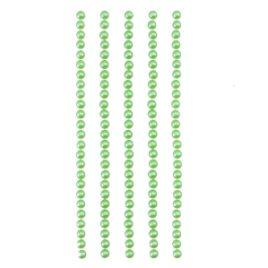 Полужемчужинки клеевые Зеленые