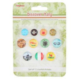 Акриловые украшения «Итальянские каникулы»
