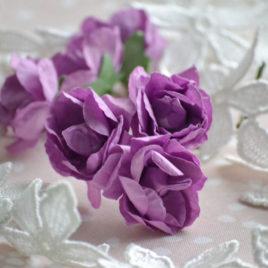 Цветы крупные розы, Фиолетовые