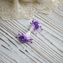 Тычинки перламутровые, Фиолетовые