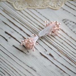 Тычинки перламутровые, Нежно-розовые