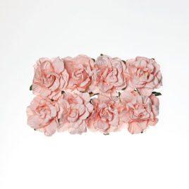 Гвоздики из бумаги, Нежно-розовые