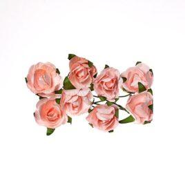 Розы из бумаги, Нежно-розовые