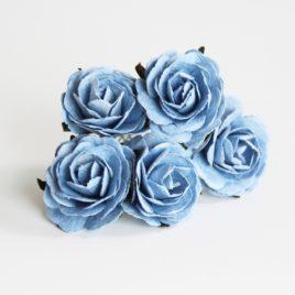 Maxi розы 4 см Голубые