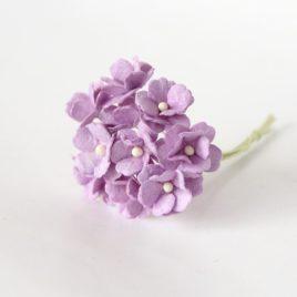 Цветы вишни средние Светло-сиреневые