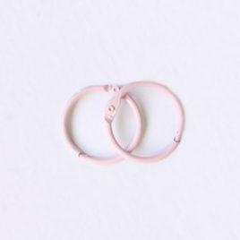Кольца для альбомов, Розовые