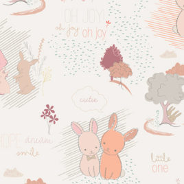 Ткань AGF «Furry Tales Sweet»