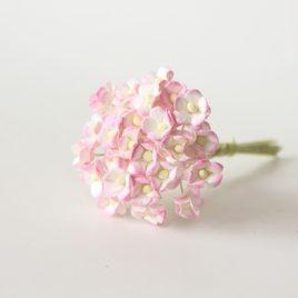 Цветы вишни мини Розово-белые