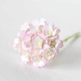 Цветы вишни средние Розово-белые