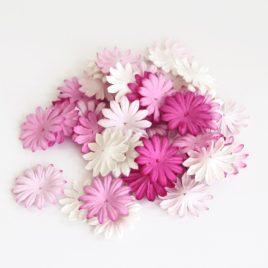 Лепестки маргариток Розовый микс