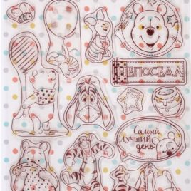 Набор штампов для творчества «Непоседа», Медвежонок Винни, Дисней Беби