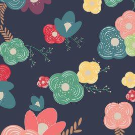 Ткань AGF «Table Flowers Cheer»