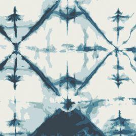 Ткань AGF «Indigo Window Crystal»