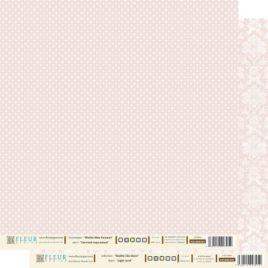 Бумага 30х30 «Светлый кораловый»