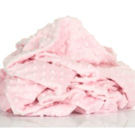 Плюш Minky нежно-розовый