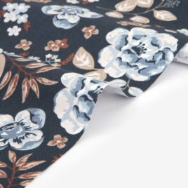 Оксфорд Dailylike «Vintage flower:blue»
