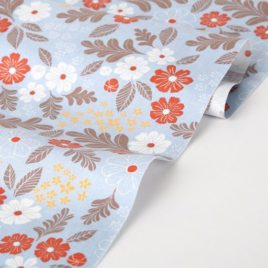 Ткань Dailylike «Цветы на голубом»