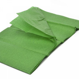 Бумага тишью Темно-зеленная