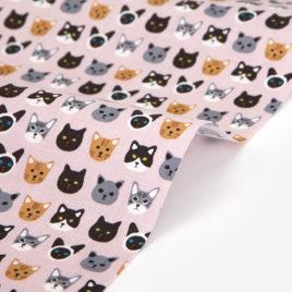Ткань Dailylike «Семейство кошачьих»