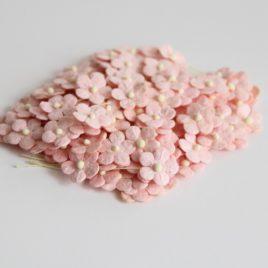 Цветочки маленькие Нежно-розовые