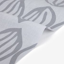 Ткань Dailylike «Blossom:Bud gray»