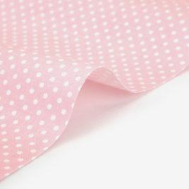 Ткань Dailylike «Горошки на светло-розовом»