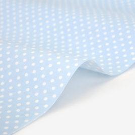 Ткань Dailylike «Горошек на голубом»