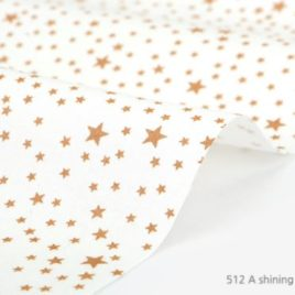 Ткань Dailylike «A shining sky starry gold»