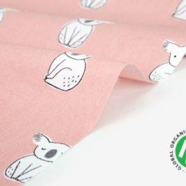 Органический хлопок Dailylike «Organic cotton:koala»
