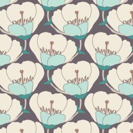 Ткань AGF «Nesting Blooms Cool»