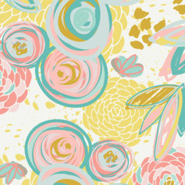 Ткань AGF «Sprayed Blooms Reverie from Reverie»
