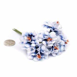 Цветы Бело-синий