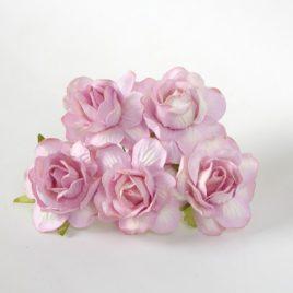 Кудрявые розы Фиолетовые