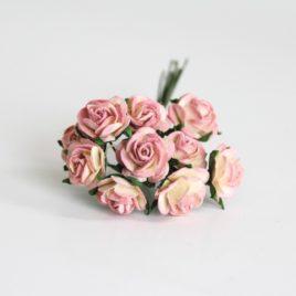 Mini Розы Розово-желтые