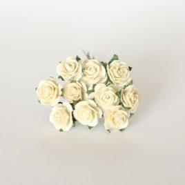 Mini Розы Молочные