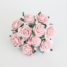Midi розы 2 см Розово-персиковые