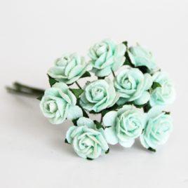Midi розы 1,5 см Мятные