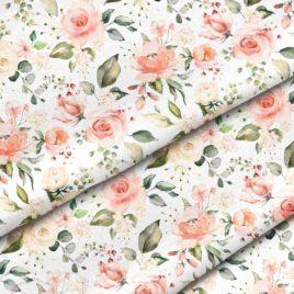 Ткань «Весенние розы»