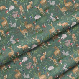 Ткань «Лесные олени»