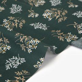Ткань Dailylike «Ромашки на зеленом»
