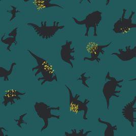 Ткань AGF «Dinomania Neon»