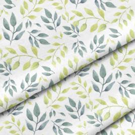 Ткань «Серо-зеленые веточки»