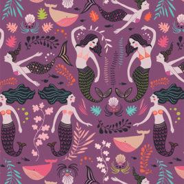 Ткань AGF «Siren Song Orchid»