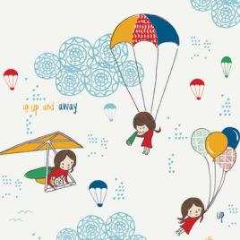 Ткань AGF «Hei Sky Cloudine»